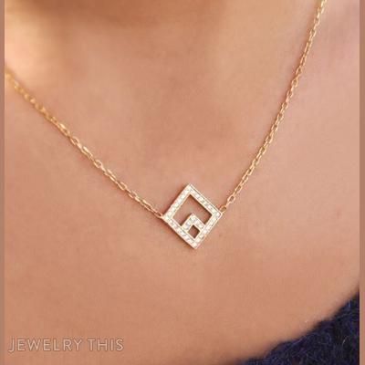 Square, Necklaces