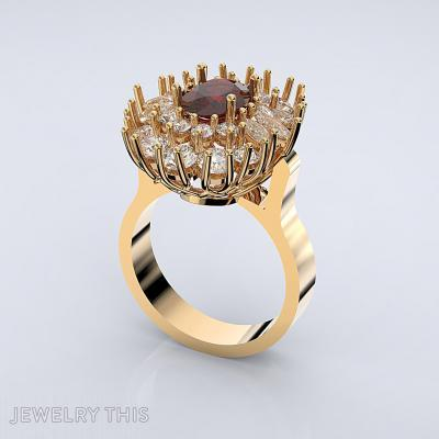Ring Bouquet, Rings, Fashion