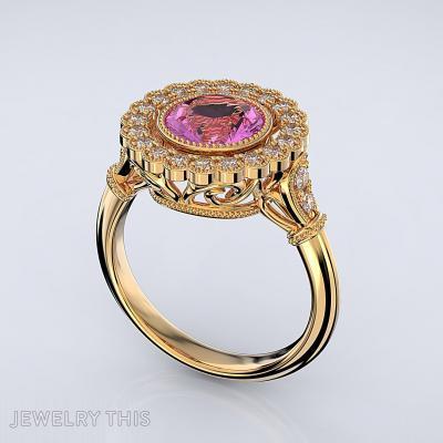 R Vintage01, Rings, Engagement