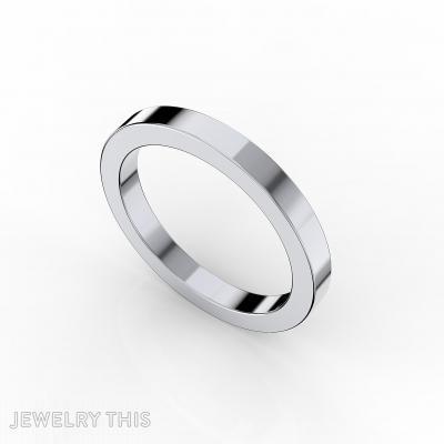 Wedding Ring, Rings, Men's