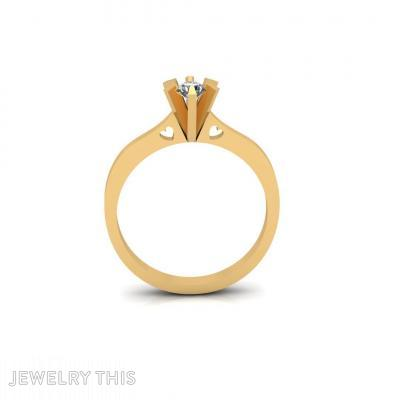 Classic Diamond Heart, Rings, Engagement