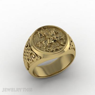 Signet Mens Ring, Rings, Signet