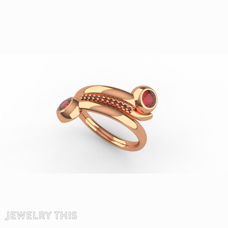 3D Jewelry Design: Goddess Ring 2 » Jewelrythis ~ Jewelry